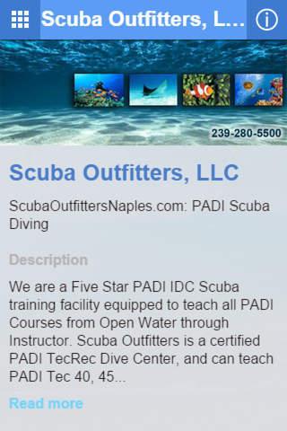Scuba Outfitters, LLC screenshot 2