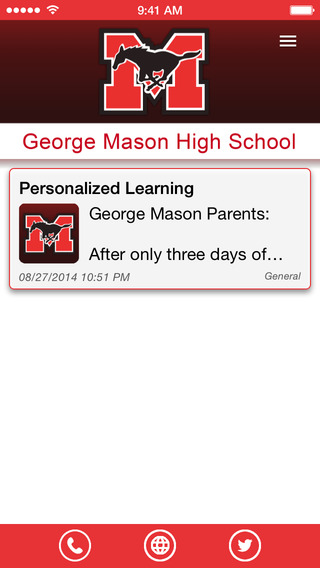 George Mason High School