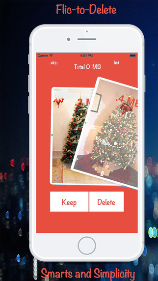 PicScrub- Delete Photos From Your iPhone. Create Space