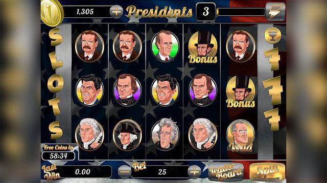 American Presidents - Free Casino Slots Game