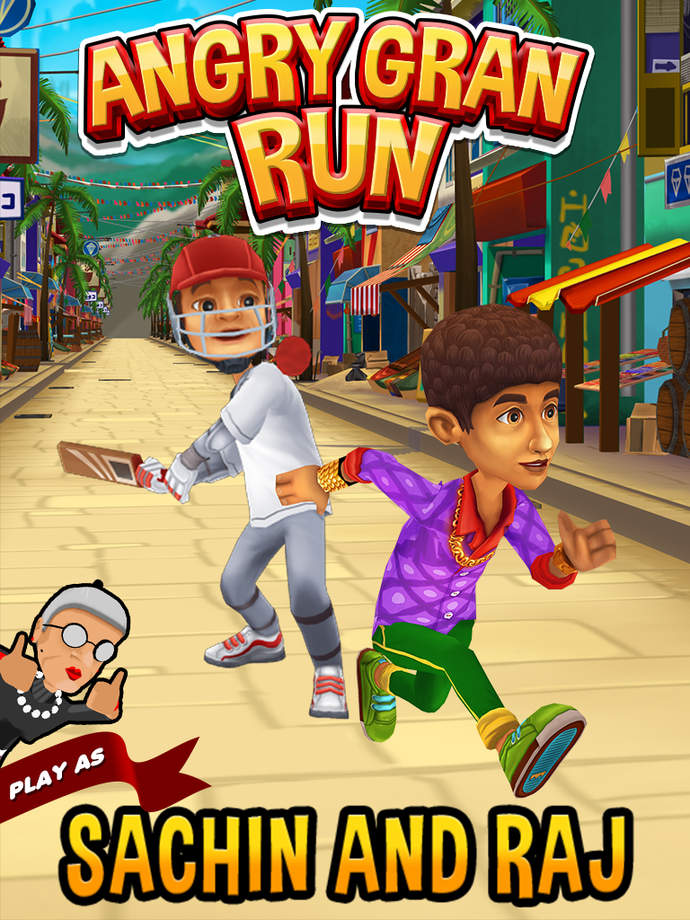 Angry Gran Run - iPhone Mobile Analytics and App Store Data