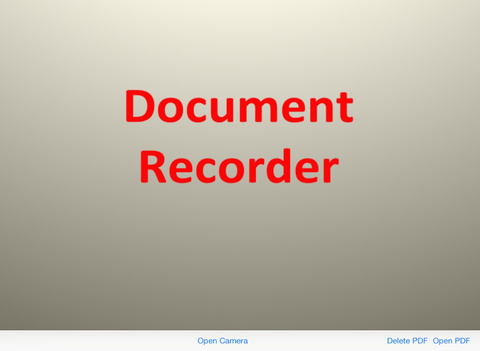 Document Recorder