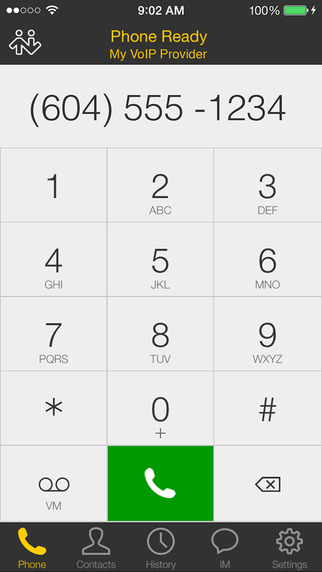Bria iPhone Edition - VoIP Softphone SIP Client Screenshots