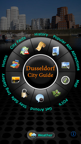 Dusseldorf Offline Map Travel Guide