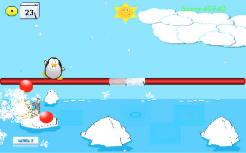Penguin Swarm for iPhone screenshot 3