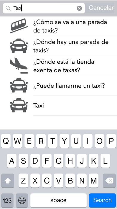 Traductor inglés iPhone Screenshot 5