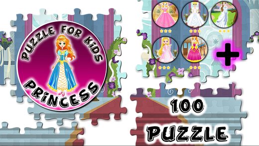 Slide Puzzle Princess