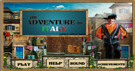An adventure in Italy - Free Hidden Object Game