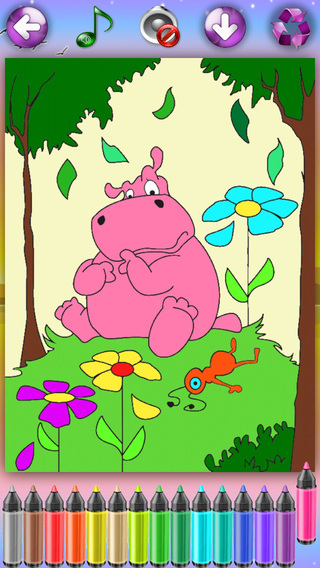 Coloring Pages with Animals for Girls Boys HD