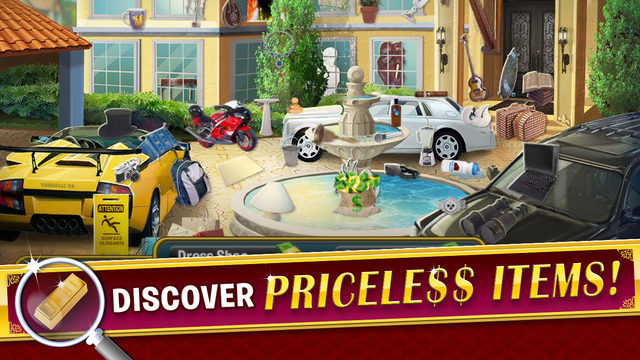 Fame and Fortune: Hidden Objects