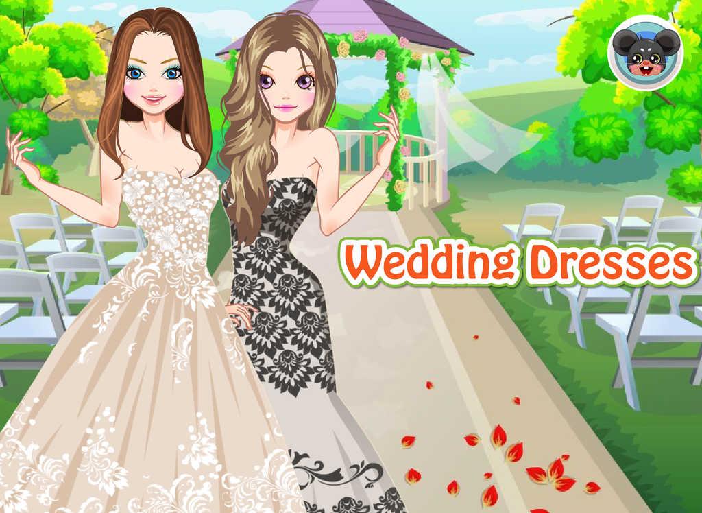 App shopper wedding dresses dress up and make up game for Wedding dresses app