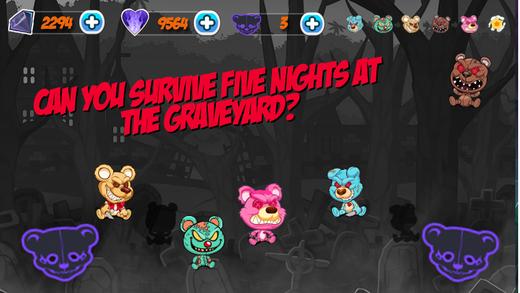 Five Ghostly Nights - Freddy's Obsessed Teddy Bear