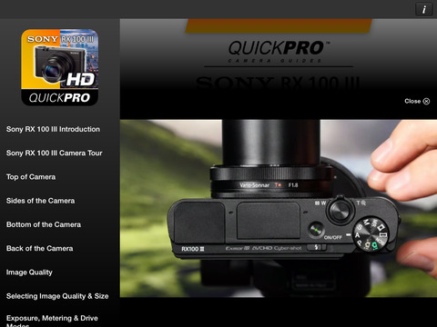 SONY HVR-Z7 Camcorder Training from VASST iPad Screenshot 3