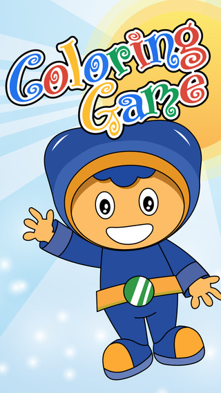 Team Coloring Book Game Paint the Umizoomi edition