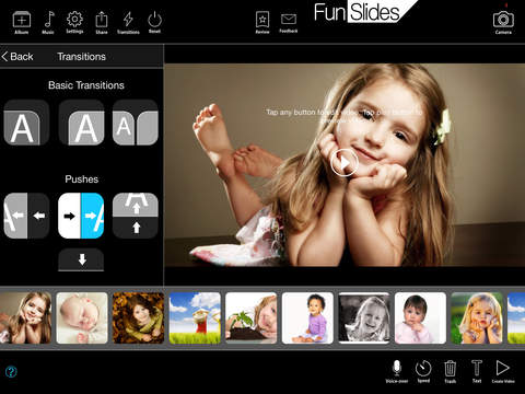 FunSlides HD - Home Edition - Make picture slide show music video share