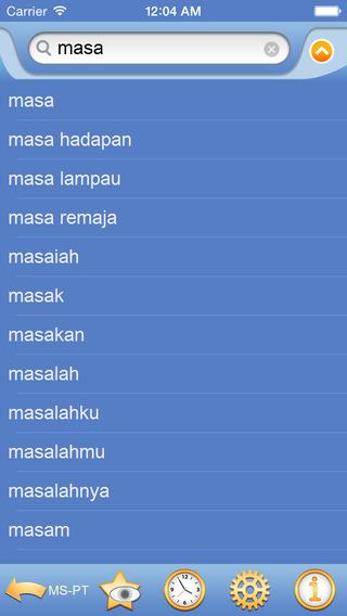 Malay Portuguese dictionary