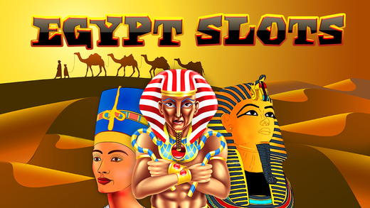 An Egypt Pharaoh Casino Slots Free - The Golden Temple of Treasure and Mystery