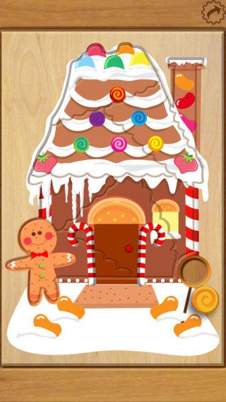 Wood Puzzle Christmas iPhone Screenshot 3