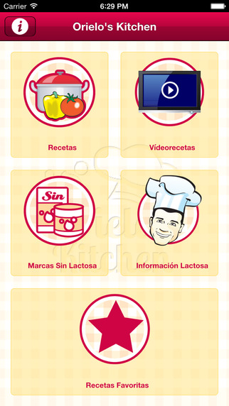 Chef Orielo Sin Lactosa