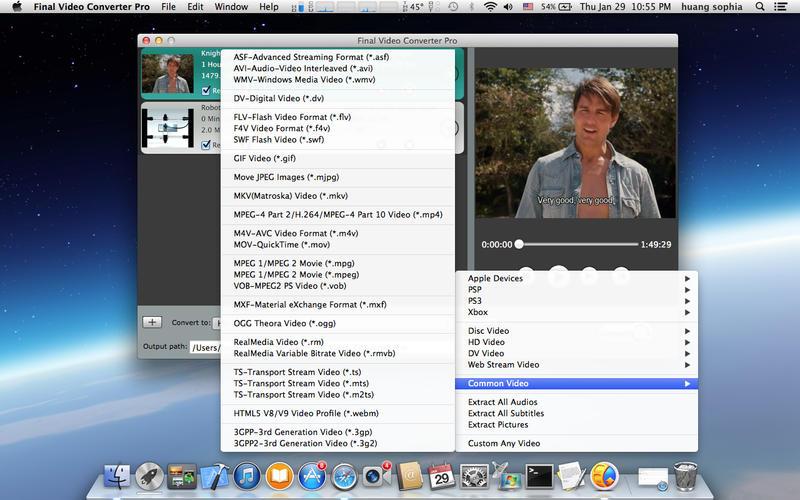 Final Video Converter Pro Screenshot - 1