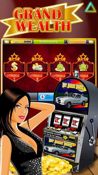Grand Wealth Slot-machine - 14K Gold Lucky Slots With Bonus Lottery Payout Games