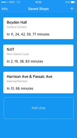 Nextbus Tracker: Rutgers-Newark College Town Shuttle