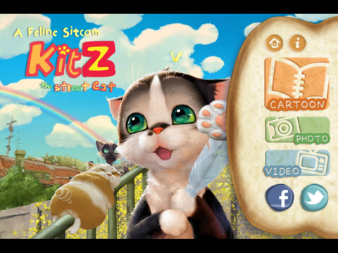Kitz, the Street Cat iPad