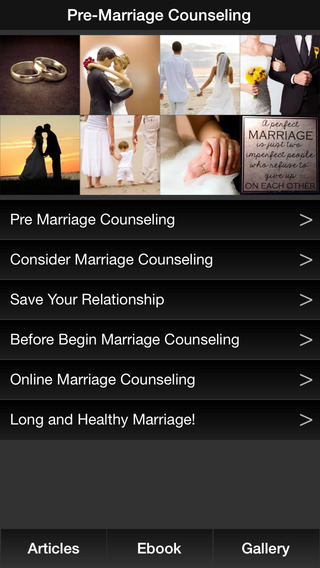 Pre Marriage Counseling - Planning Marriage Relationships Advice Divorce Prevention