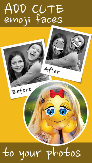 Emoji Face Maker - Create Funny Pics with Emoticons
