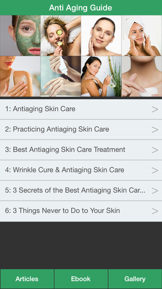 Anti Aging Guide - The Ultimate Guide To Anti Aging For Your Skin
