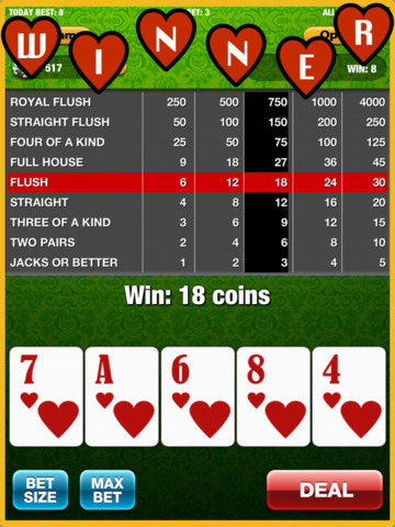 A Video Poker VIP Game - Best Live Poker Series World Casino Games (Texas Holdem Not Included)screeshot 2
