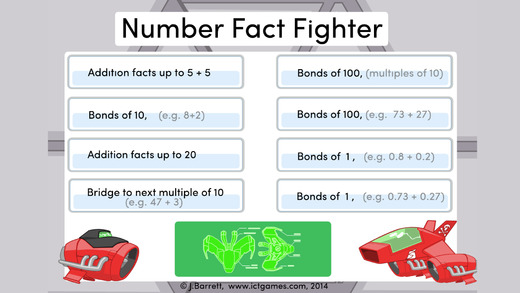 Number Fact Fighter