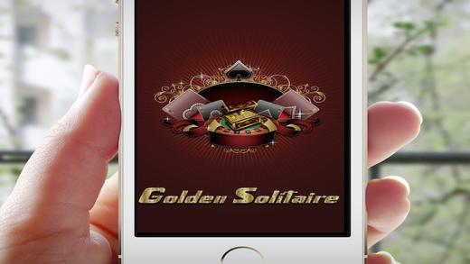 AAA Golden Solitaire - Win FREE Progressive Chips and Best Vegas Bonus Jackpots