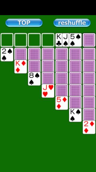 【免費遊戲App】Card_Klondike-APP點子