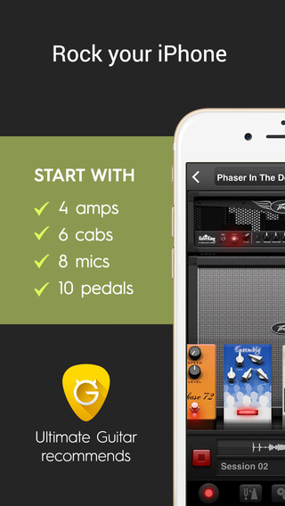 AmpKit+ - 将 iPhone 变成吉他放大器和音效制作器[iOS][¥128→0]丨反斗限免