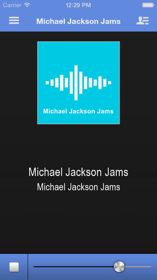 Radionomy App for Michael Jackson Jams