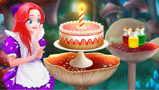 Fairy Tale Food Salon: Magic Bakery Kids Cake Maker