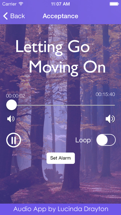 Letting Go, Moving On by Lucinda Drayton iPhone Screenshot 2
