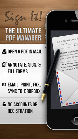 Sign It - Fill Sign and Send PDF Documents