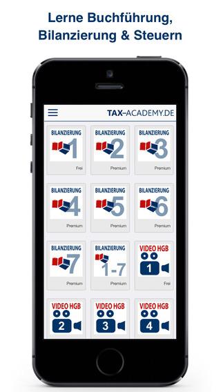 Tax-Academy: Buchführung Bilanzierung Steuern