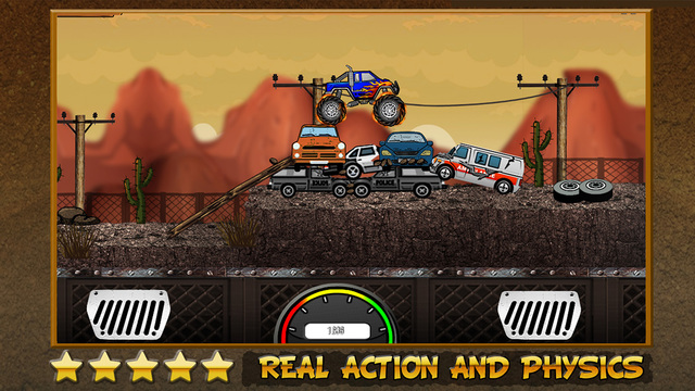 Monster Truck Mayhem : Real Offroad Racing Legends Edition Free