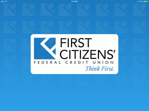 First Citizens' FCU Mobile for iPad