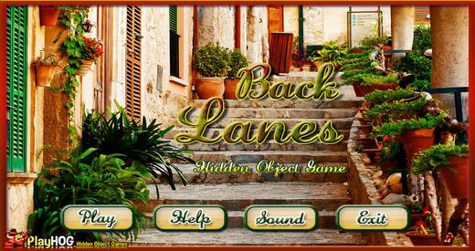 Back Lanes - Free Hidden Object Games
