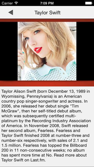 Music top 100 hits PRO version iPhone Screenshot 5