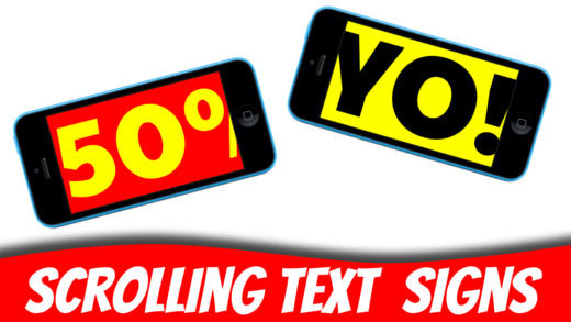 Super Banner : Scrolling Text Signs