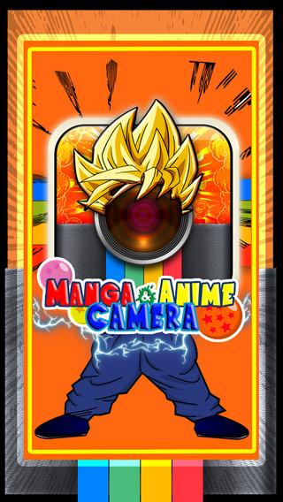 CamCCM - Manga Anime Sticker Camera