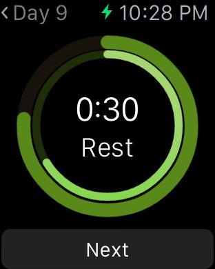 Situps 100 - 30 days workout challenge Screenshots