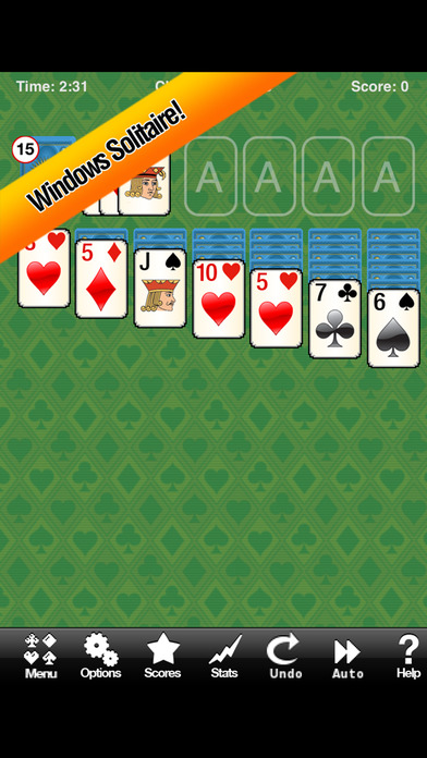 Solitaire iPhone Screenshot 3