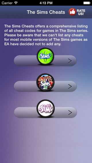 Cheats for The Sims-The Unofficial guide for all Sims Games Free