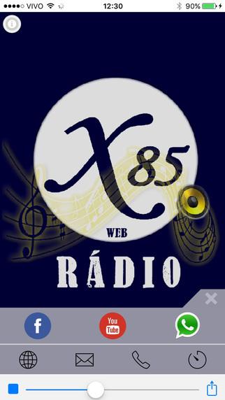 Web Rádio X85